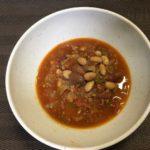 豆のミートソース